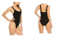 Kendall + Kylie Brand Band One-Piece Swimsuit