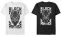 Marvel Men's Black Panther Geometric Mask, Short Sleeve T-Shirt