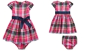 Polo Ralph Lauren Baby Girls Plaid Cotton Dress