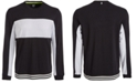 Ideology Men's Mesh-Blocked Long-Sleeve T-Shirt, Created for Macy's
