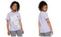 Nike Big Girls Cotton Just Do It Boyfriend T-Shirt