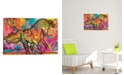 """iCanvas Unicorn by Dean Russo Wrapped Canvas Print - 40"""" x 60"""""""