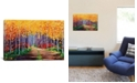 """iCanvas Traversing by Kimberly Adams Wrapped Canvas Print - 18"""" x 26"""""""