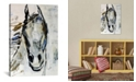 """iCanvas Picasso`S Horse I by Julian Spencer Wrapped Canvas Print - 40"""" x 26"""""""