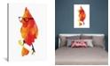 "iCanvas Punk Bird by Robert Farkas Wrapped Canvas Print - 40"" x 26"""