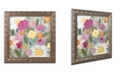 """Trademark Global Carrie Schmitt 'Jubilation' Ornate Framed Art - 11"""" x 11"""""""