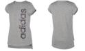 adidas Big Girls Logo-Print T-Shirt