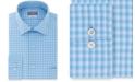 Van Heusen Men's Classic/Regular-Fit Performance Stretch Wrinkle-Free Flex Collar Check Dress Shirt