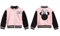 Disney Toddler Girls Minnie Mouse Bomber Jacket