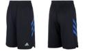 adidas Toddler Boys Angled 3-Stripes Shorts