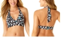 Anne Cole Beautiful Bunches Printed Halter Bikini Top