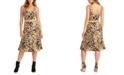 RACHEL Rachel Roy Juniors' Animal-Print Jacquard Dress