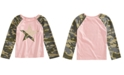 Epic Threads Toddler Girls Glitter Camo Star T-Shirt, Created for Macy's
