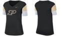Nike Women's Purdue Boilermakers Breathe V-Neck T-Shirt