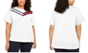 Tommy Hilfiger Plus Size Colorblocked T-Shirt