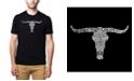 LA Pop Art Men's Premium Word Art T-Shirt - Outlaws