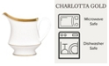 Noritake Charlotta Gold Creamer