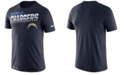 Nike Men's Los Angeles Chargers Sideline Legend Line of Scrimmage T-Shirt