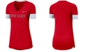 Nike Women's Ohio State Buckeyes Fan V-Neck T-Shirt