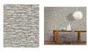 "Marburg 20.5"" x 396"" Kamen Stone Wallpaper"