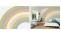 ohpopsi Pastel Rainbow Wall Mural