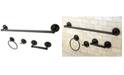 Kingston Brass Concord 4-Pc. Bathroom Accessories Set in Oil Rubbed Bronze