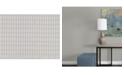 """Warner Textures 27"""" x 324"""" Gauntlet Light Geometric Wallpaper"""