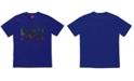 H4X Men's Comic Book Logo Graphic T-Shirt