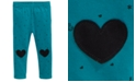 First Impressions Baby Girls Printed Hearts Leggings, Created For Macy's