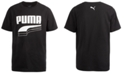 Puma Big Boys Rebel Pack Logo-Print T-Shirt