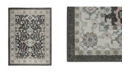 "Shabby Chic CLOSEOUT! New Weave Paige Dark Gray 7'10"" x 10'2"" Area Rug"