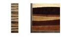 "Global Rug Designs CLOSEOUT! Global Rug Design Brighton BRI11 Brown 2'2"" x 20' Runner Area Rug"