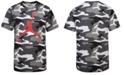 Jordan Big Boys Camo-Print Air T-Shirt