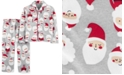 Carter's Toddler Boys 2-Pc. Fleece Santa Pajamas Set