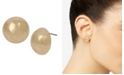 Robert Lee Morris Soho Round Stud Earrings