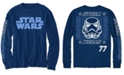 Star Wars Little Boys Stormtrooper 77 Grid T-Shirt