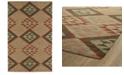 "Kaleen Lakota LKT02-86 Multi 3'6"" x 5'6"" Area Rug"