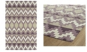 Kaleen Lakota LKT03-95 Purple 8' x 10' Area Rug
