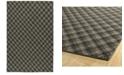 Kaleen Sartorial SAT02-38 Charcoal 8' x 10' Area Rug