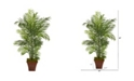 Nearly Natural 5' Areca Artificial Palm Tree in Brown Planter UV Resistant Indoor/Outdoor