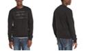 Buffalo David Bitton Men's Facory Regular-Fit Fleece Logo Sweatshirt