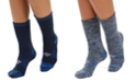 Columbia Women's 2 Pack Moisture-Control Space-Dyed Crew Socks