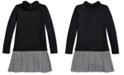 Polo Ralph Lauren Girls Houndstooth Interlock Dress