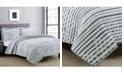 American Home Fashion Estate Nara 2 Piece Twin Quilt Set