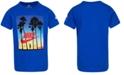 Nike Toddler Boys Sunset-Print Cotton T-Shirt
