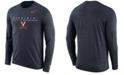 Nike Men's Virginia Cavaliers Velocity Travel Long Sleeve T-Shirt