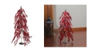 "Northlight 32"" Downswept Festive Red Berries Artificial Decorative Christmas Tree - Unlit"