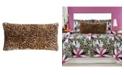 "Christian Siriano Tahiti Cheetah 16"" X 32"" Decorative Pillow"