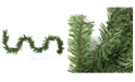 Northlight 100' Commercial Length Canadian Pine Artificial Christmas Garland - Unlit