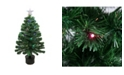 Northlight 3' Pre-Lit LED Color Changing Fiber Optic Christmas Tree with Star Tree Topper